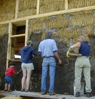 Green Plasters for Zero Energy Buildings
