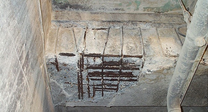 Investigation of Reinforced Concrete Structures for Repair and Maintenance