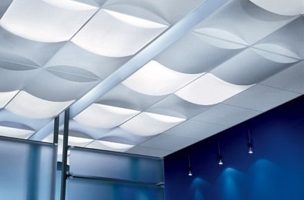 Synthetic Leather or Cloth False Ceiling