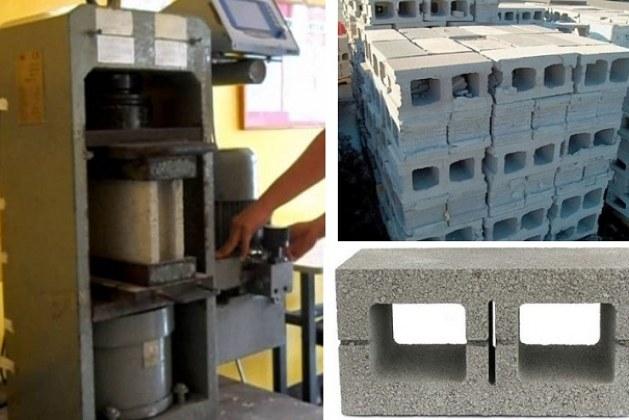 Testing of Concrete Masonry Blocks for Compressive Strength and Density