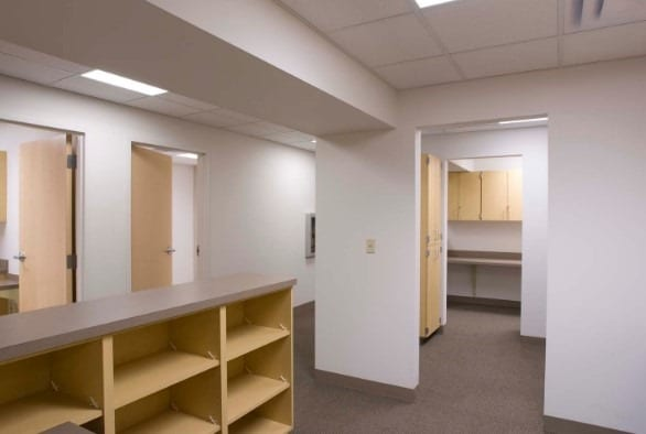 Gypsum Wall Panels and Ceilings Used for Office Interior