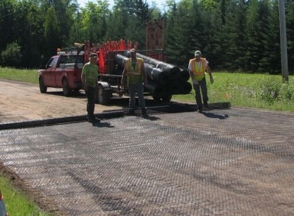 Applications of Geogrid in Pavement Construction