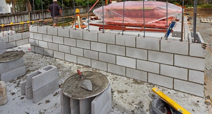 Materials for Reinforced Concrete Masonry Walls Construction