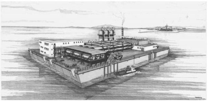 Concrete Production Barge - Offshore Concrete Structures