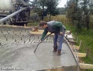 Concreting of Floating Slabs
