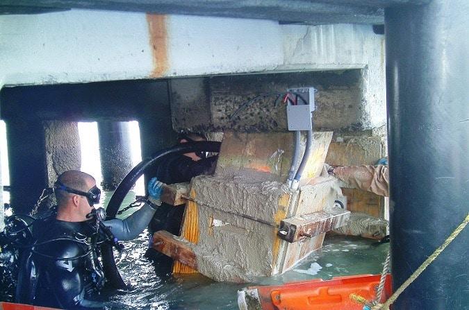 Repair of Underwater Concrete Structures - Methods and Procedure