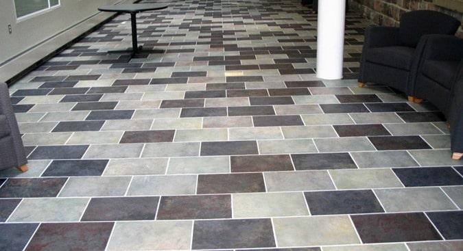 Types of Tiles - Glazed Ceramic Tile