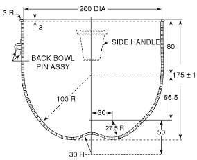 Building Lime Mortar Mixer Bowl