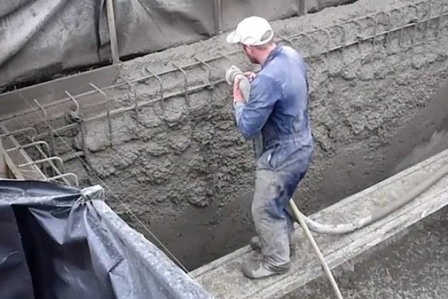Shotcrete or Sprayed Concrete or Gunite -Properties, Materials, Uses