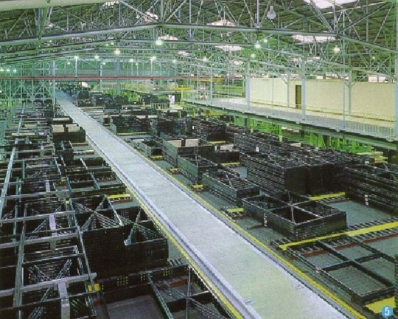 Automated and Robotic Steel Panel Production Facility