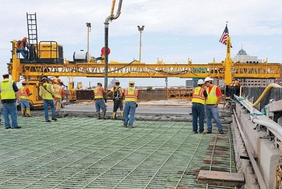 Using Thick Overlay Concrete for a Bridge in New York, USA