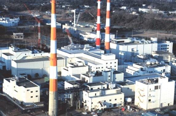 Tokai Reprocessing Facility in Tokai, Japan