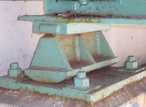 Rocker Support in a Structure