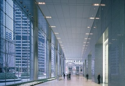 Use of Cable Net in UBS Tower, Chicago, United States