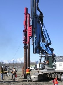Delmag Pile Driving Rig