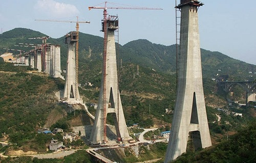 Piers in Bridge Construction