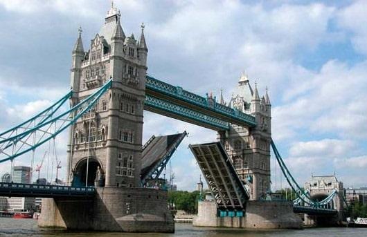 Movable Bridge in London, UK
