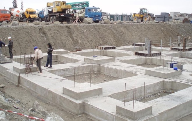 Building Foundation in Construction