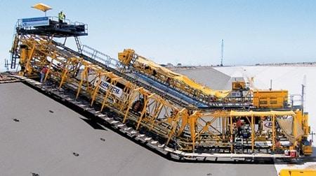 Canal Paver Machine