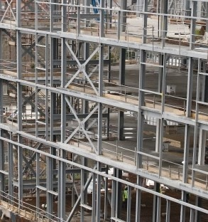 Continuous Steel Frame