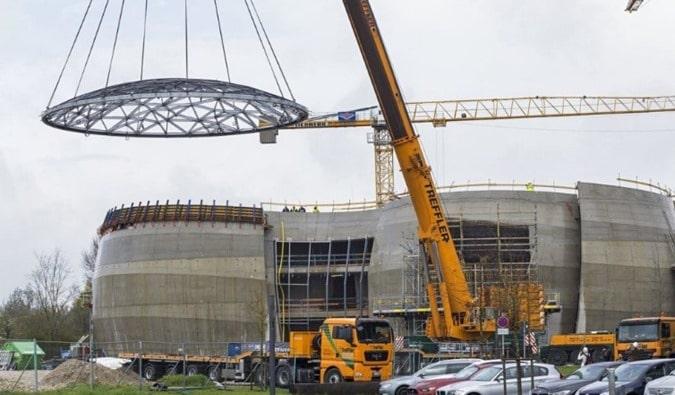 Economical Steel Frame Structure Construction