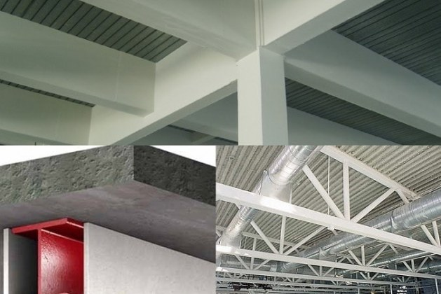 What are Common Fire Protection Systems for Steel Structures?
