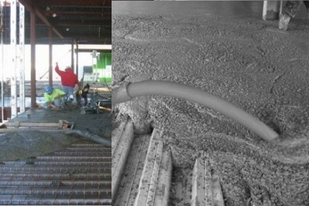 Types of Construction Loads on Composite Slabs and Calculation