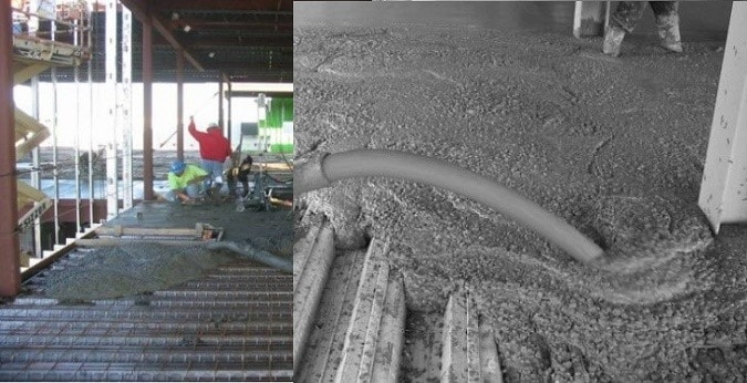 Types of Construction Loads on Composite Slabs