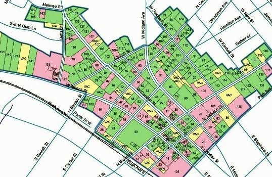 Property Map for Township Survey