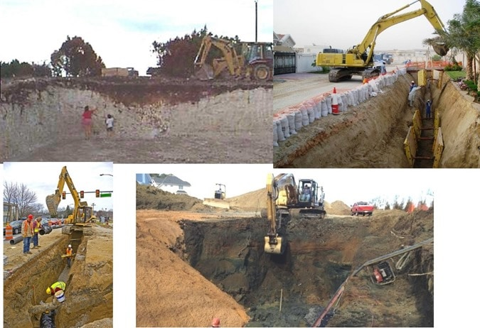 Stability of Slopes for Excavations