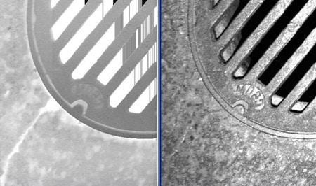 Manholes Detected Using LMCS