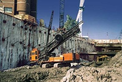Anchored Excavation Method