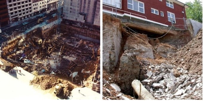 Causes of Failure in Deep Excavations