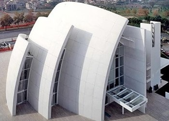 New jubilee church structure photocatalytic concrete