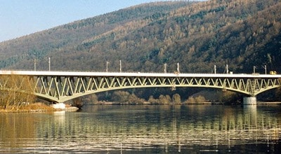 Railway Bridge across River
