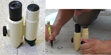 Crack Width Measurement Magnifier
