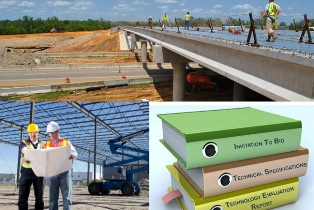 Civil Construction Project Technical Specification and its Contents
