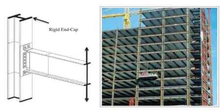 Rigid frame structural system