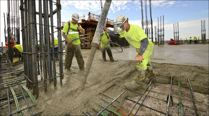 What is cost of concrete construction