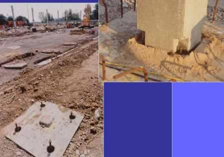 Foundation for Precast Concrete Columns