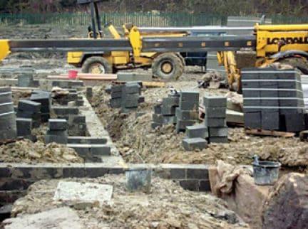 Mismanagement of Materials at Construction Site