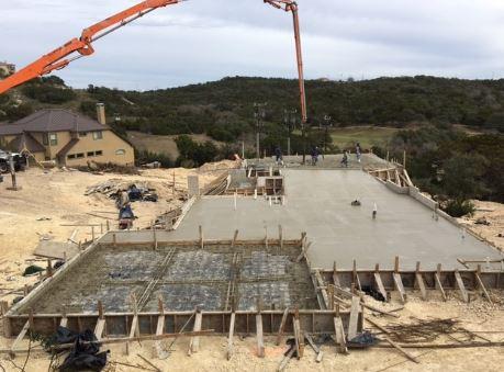Using Pumps to Pour Concrete Foundation