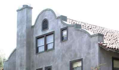 Curved Parapet Wall