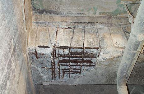 Concrete Beam Deterioration