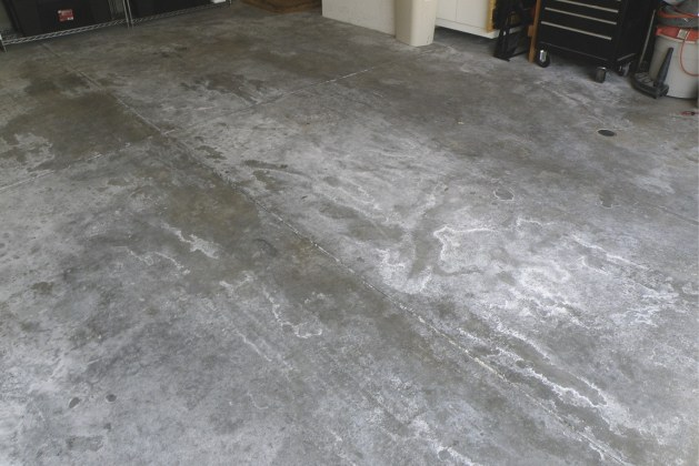 Fixing Moisture Problems in Concrete slab