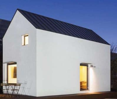 Affordable Thermoplastic Composite House