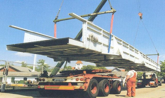 Lightweight Bridge Constructed From Poltruded FRP Sections