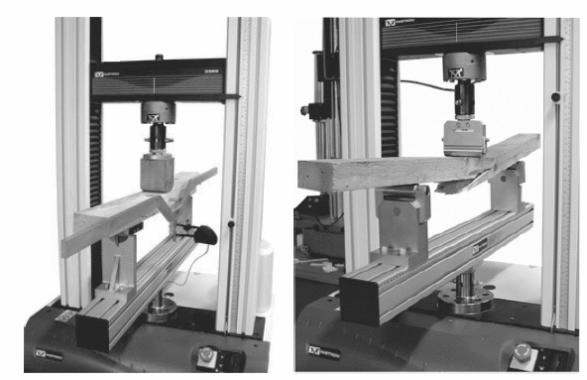 bending test wooden beam