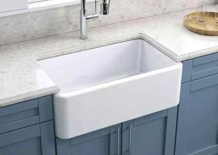 Lead Glazed Fire-clay Kitchen Sink