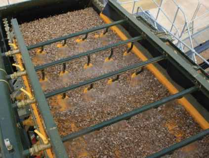 Pre-cooling of Aggregate